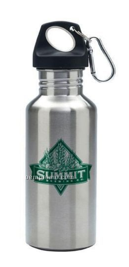 20 Oz. Stainless Steel Wide Mouth Bottle