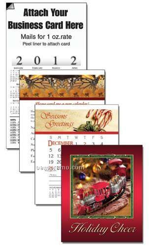2011 Train Cover 13 Month Multi-purpose Calendar