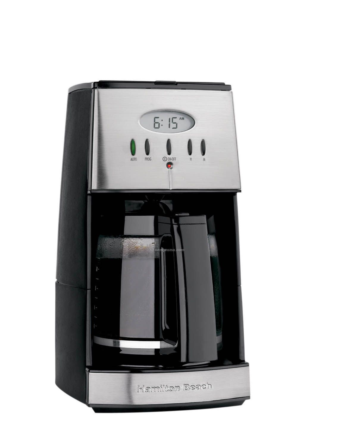 Hamilton Beach Ensemble 12 Cup Coffeemaker (Black)