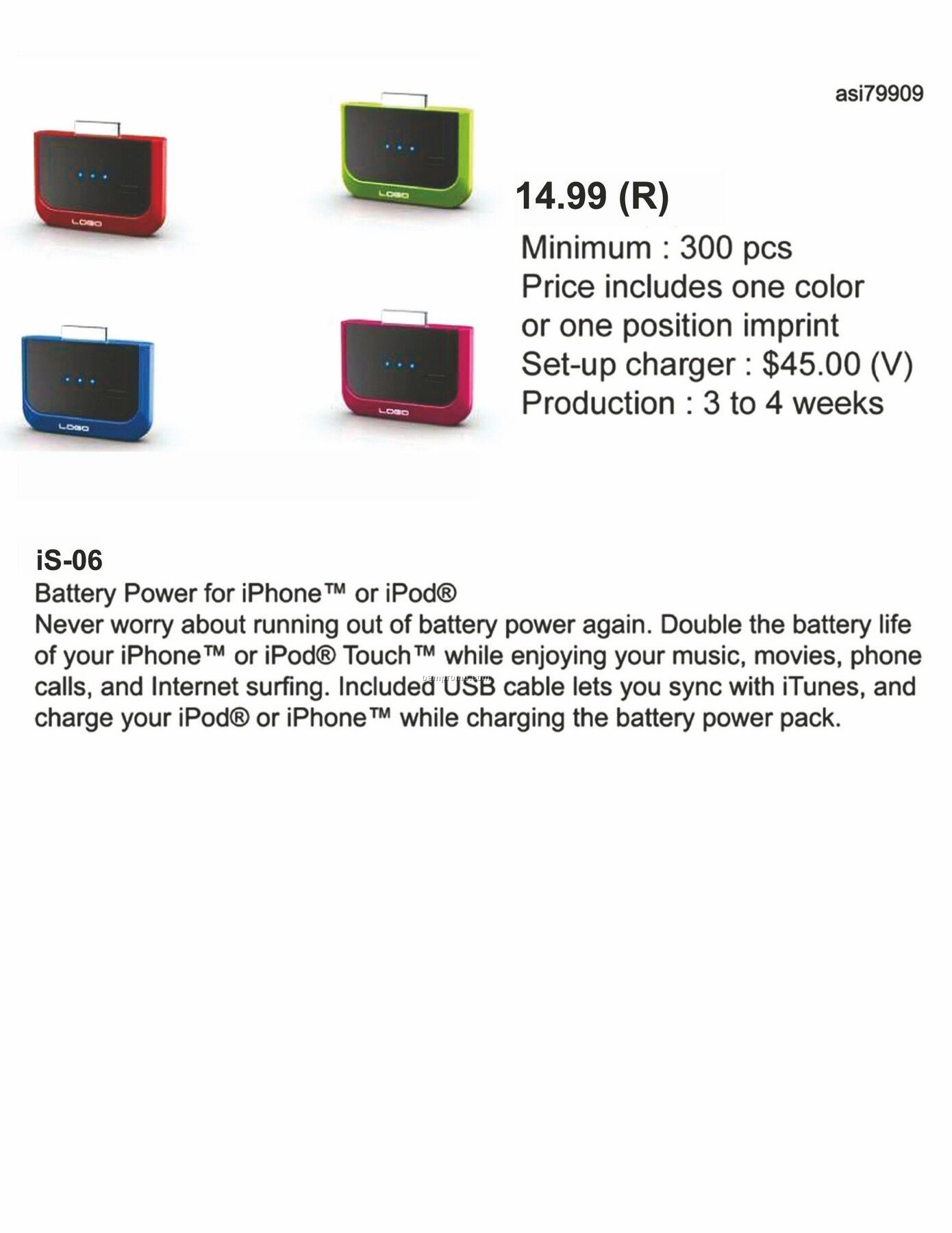 Iphone Ipod Power Charger
