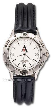 Pedre Men's Riviera Watch W/ Black Double Bump Leather Strap