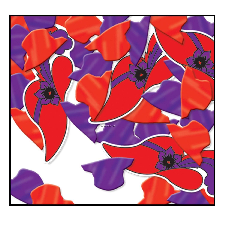 Print Fetti Red Hats Confetti