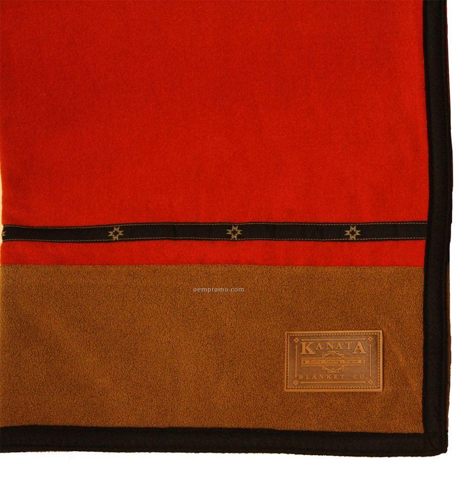 Red Lodge Series Wool Blanket