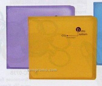 Vinyl Plastic 12 CD Case