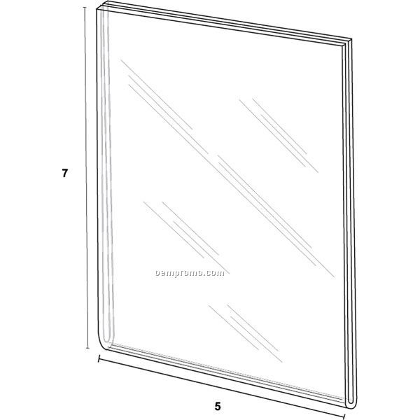 Wall Frame For 5'' W X 7'' H W/Tape