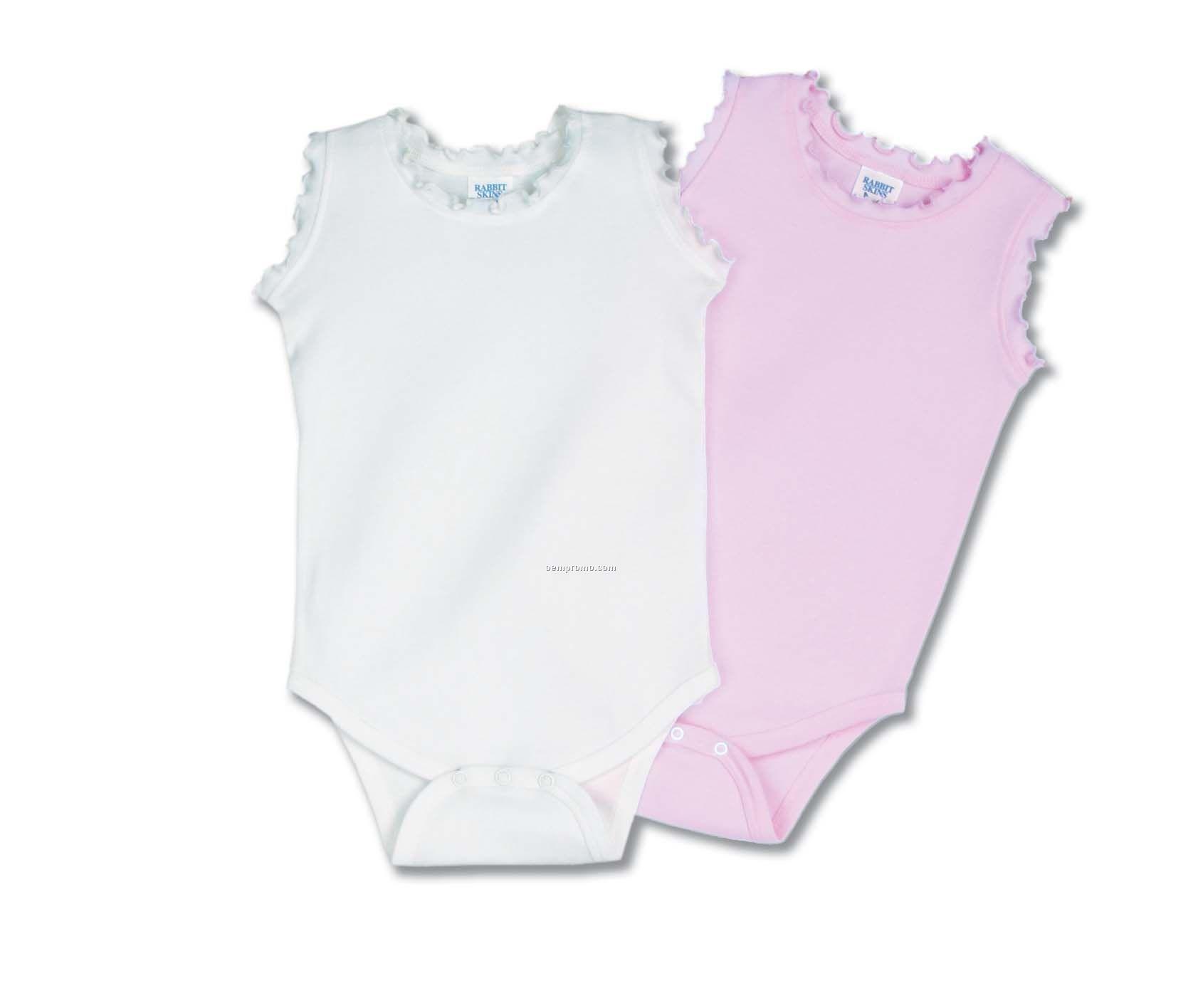 Infant Baby Rib Girls Creeper
