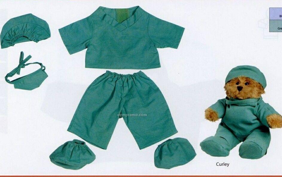 Large Bearwear Doctor Scrubs