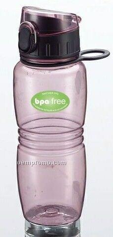 16 Oz. Bpa Free Reusable Water Bottle W/ Flip Lid