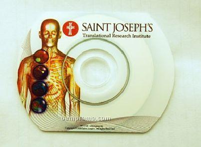 Blank Hockey-rink CD Disc Printing / Labeling