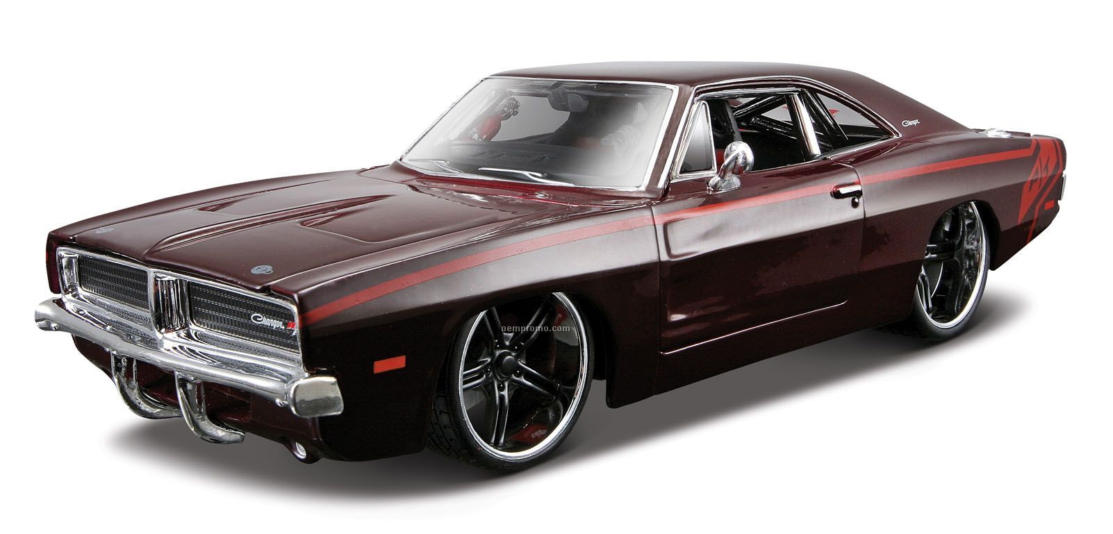 """7""""X2-1/2""""X3"""" 1969 Dodge Charger R/T All Star Series Die Cast Replica"""