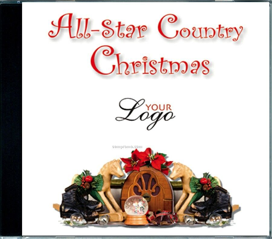 All Star Country Christmas Music CD