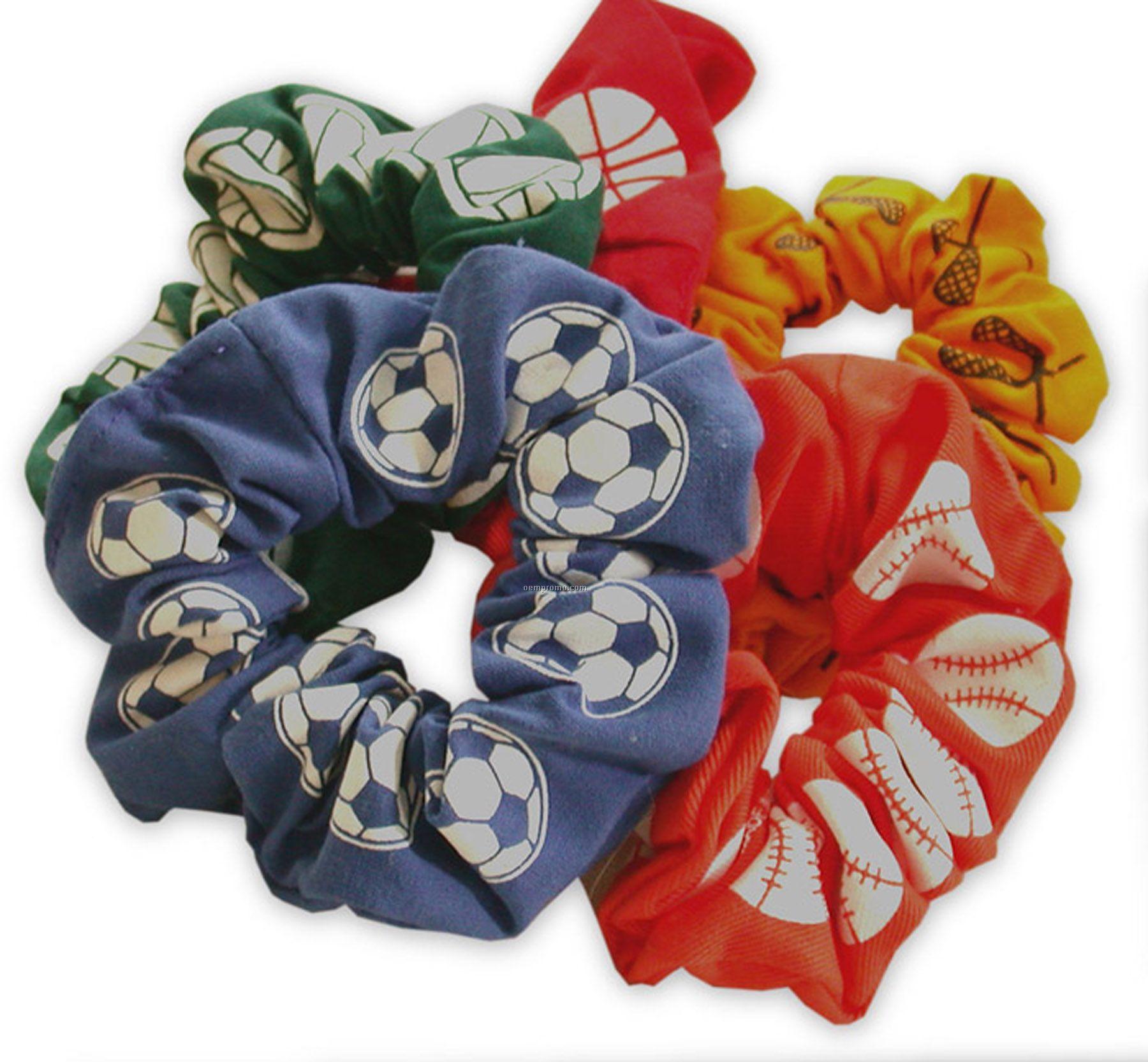 Custom Silk Screened Scrunchees