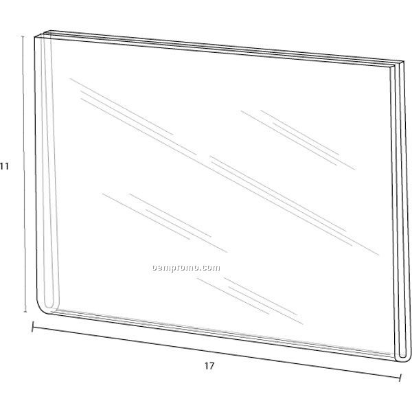 Wall Frame For 17'' W X 11'' H W/Tape