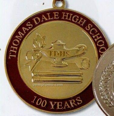 "2-1/4"" Die Struck Medal/ Coin (2 Mm)"