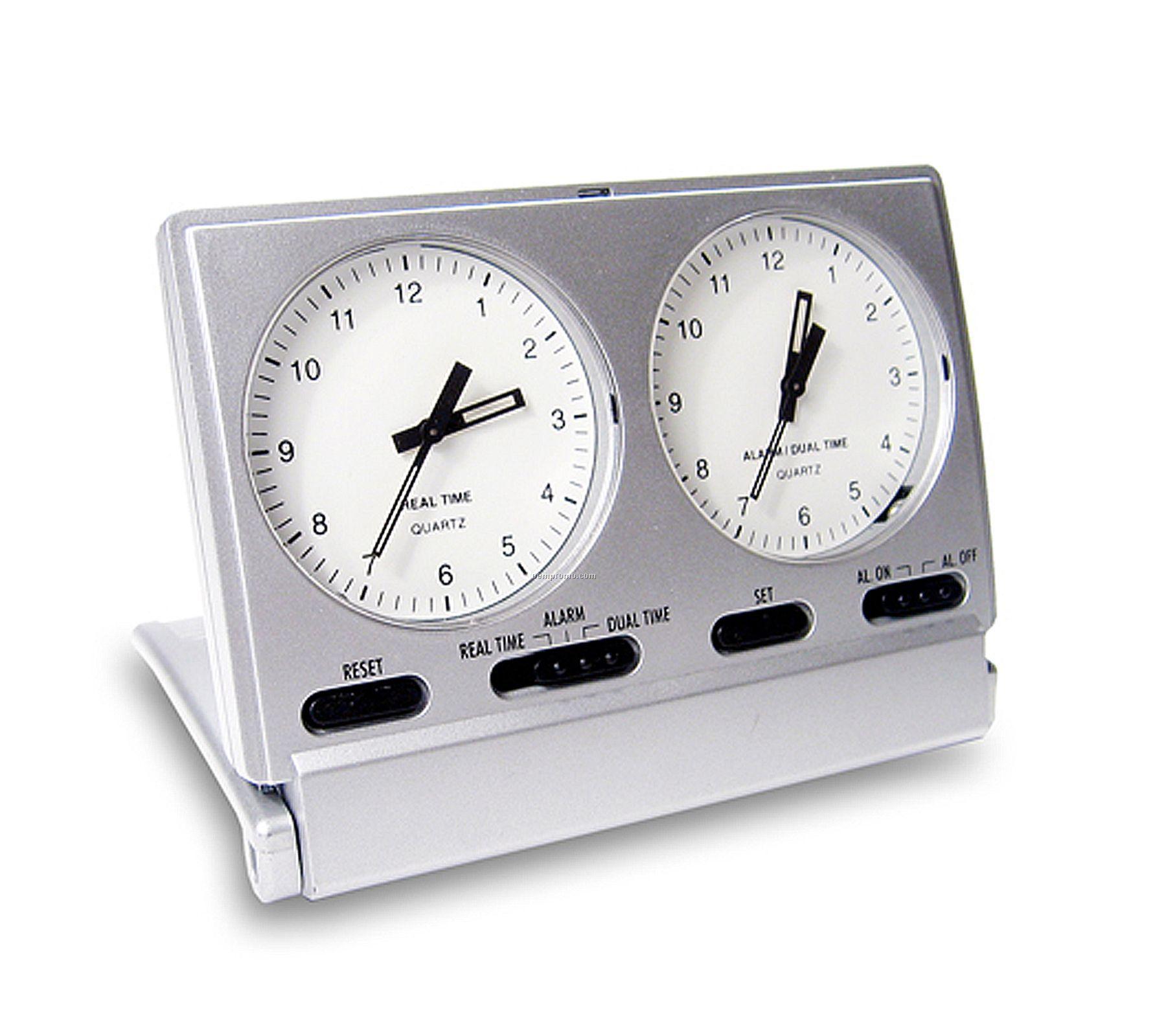 Dual Time Alarm Clock