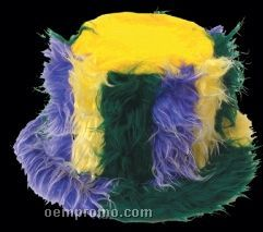 Mardi Gras Furry Bucket Hat