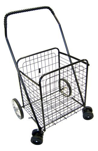 Medium Rotating Shopping Cart