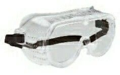Small Perforated Safety Goggles W/ Vinyl Frame - 115s