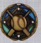 Stock Cem Medal - Baseball