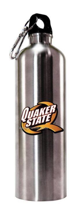 20 Oz. Stainless Steel Water Bottle W/ Carabiner