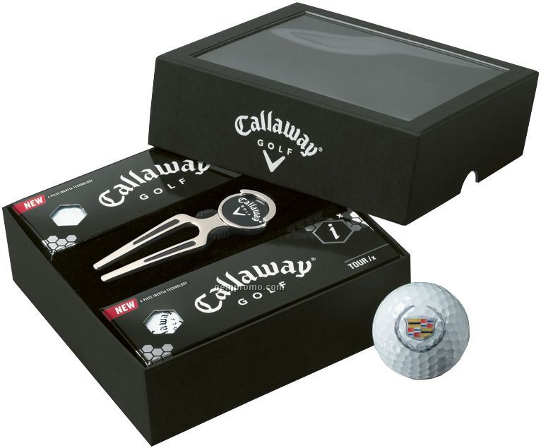 Callaway Hx Diablo Tour 6-ball Set W/ Deluxe Divot Tool (2011)