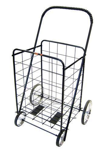 Large Stationary Shopping Cart