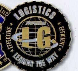 "2-3/4"" Die Struck Medal/ Coin (2.5 Mm)"
