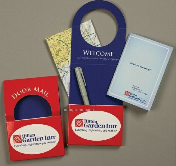 "Door Mail Hanger - 1 Color Over 1 Color (4-1/8""X10-3/4""X1/2"")"