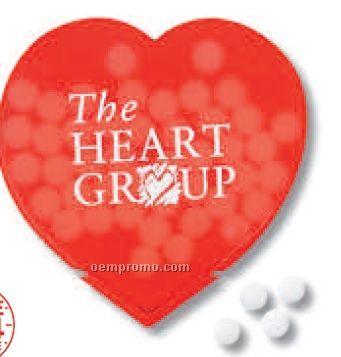 Heart Design Slim Mints (Printed)