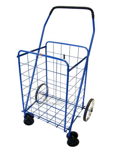 Large Rotating Shopping Cart