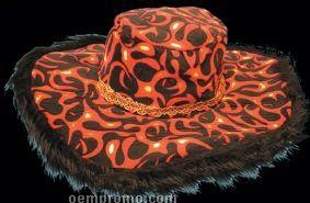 Big Brim Funky Fire Hat