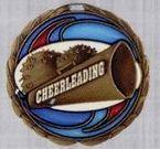 Stock Cem Medal - Cheerleading
