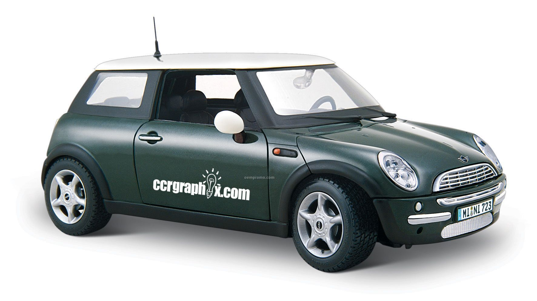 "7""X2-1/2""X3"" Mini Cooper Car Die Cast Replica"