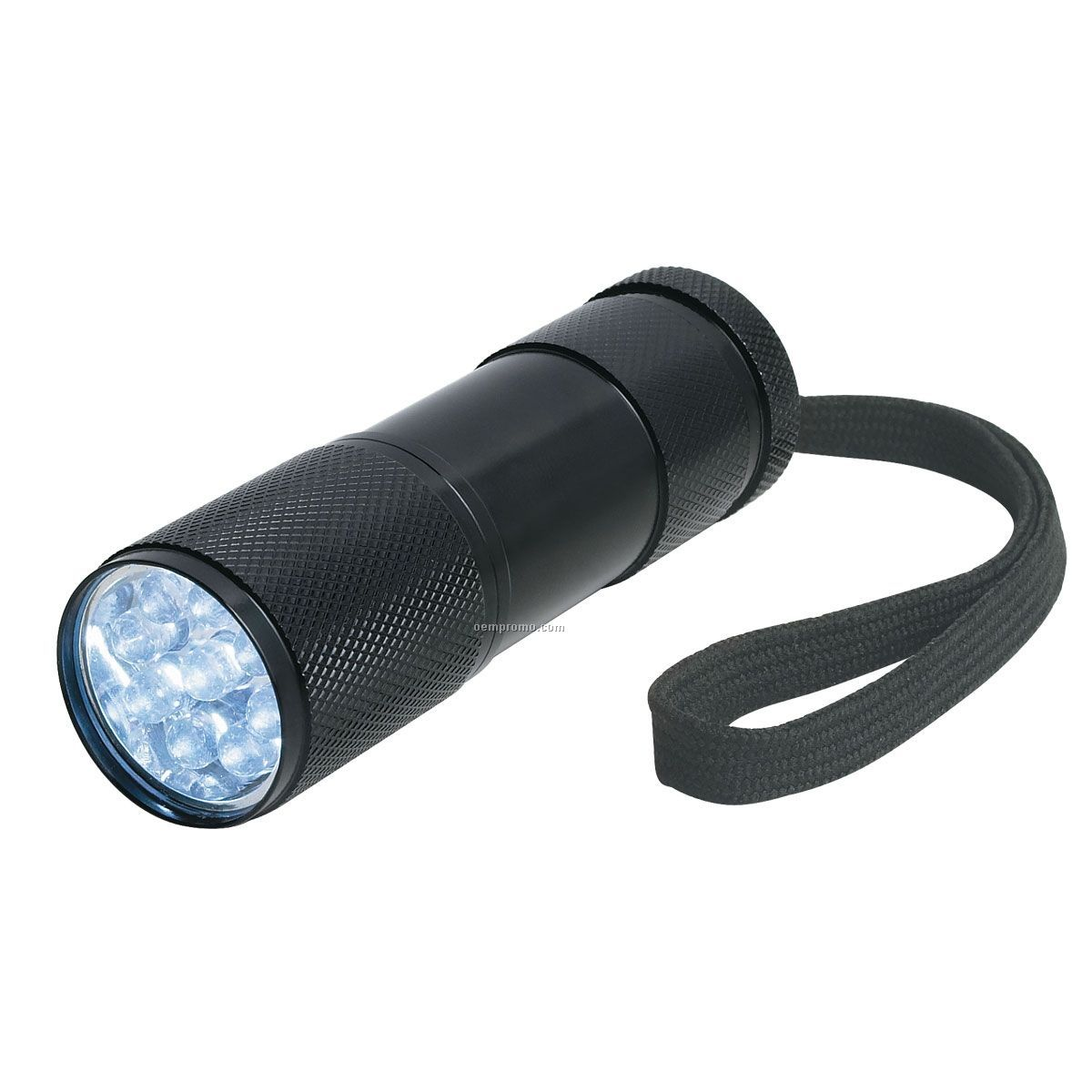Black Chunky 9 LED Flashlight