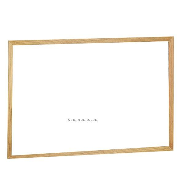 "Brilliant Boards Oak Wood Frame - 11""X14"""