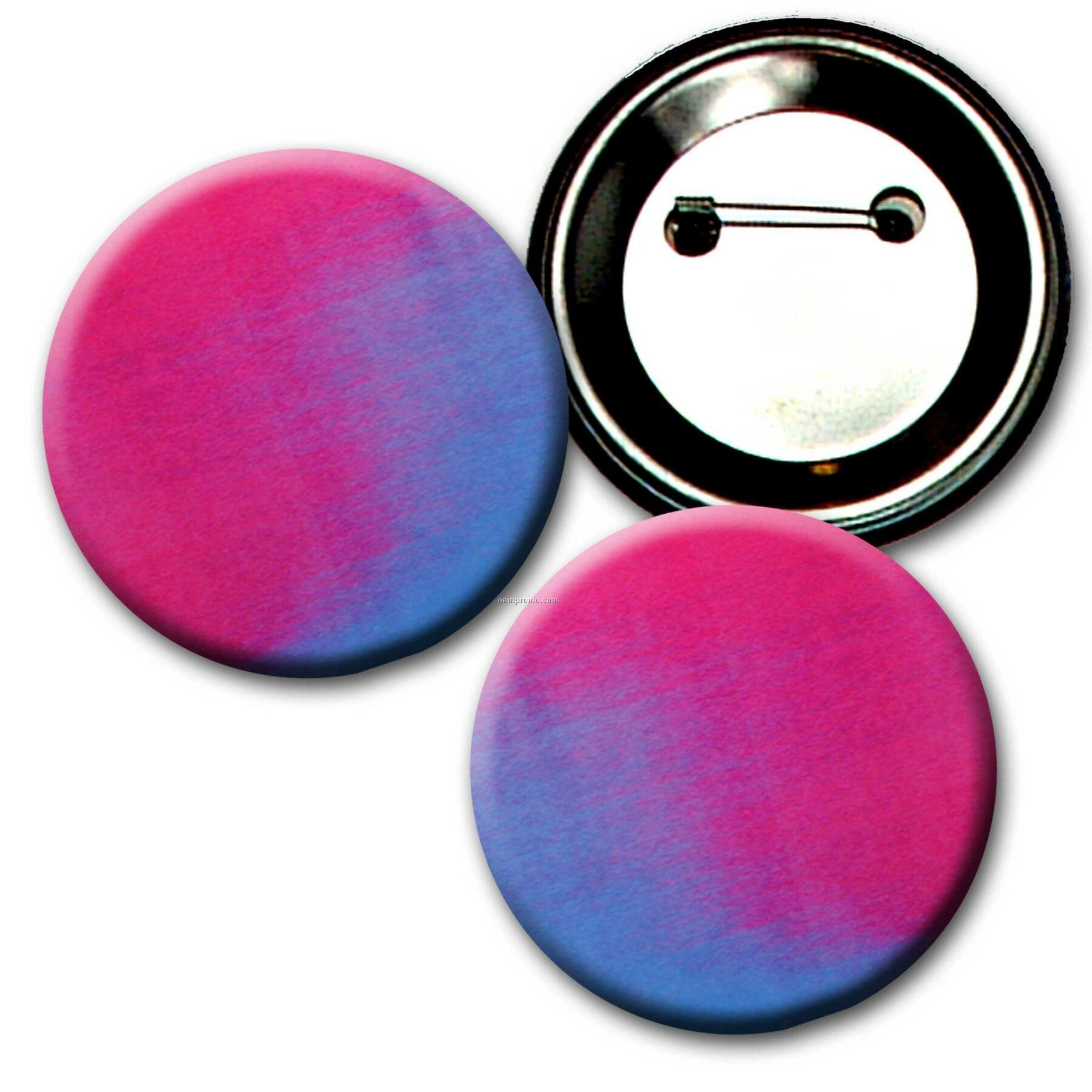 Buttons W/ Changing Colors Lenticular Effects (Blanks)