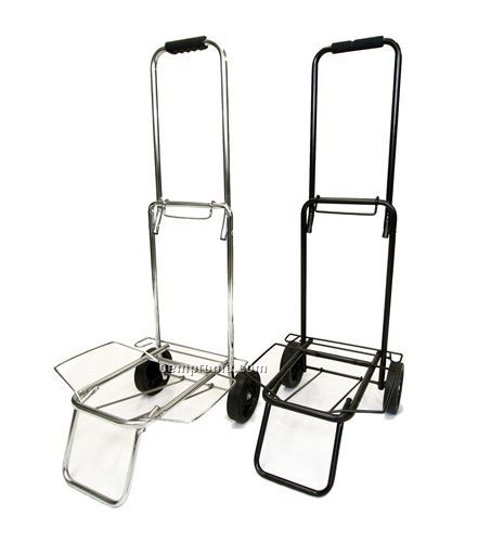 Compact Folding Luggage Cart (Black),China Wholesale
