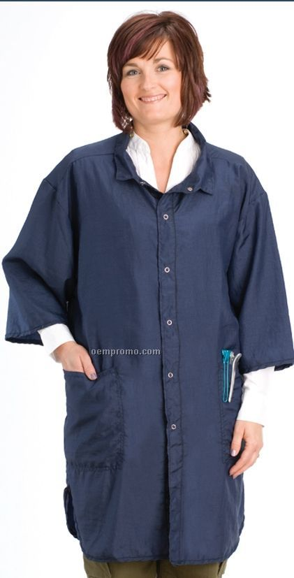 One Size Fits Most Shirt Style Salon Smock