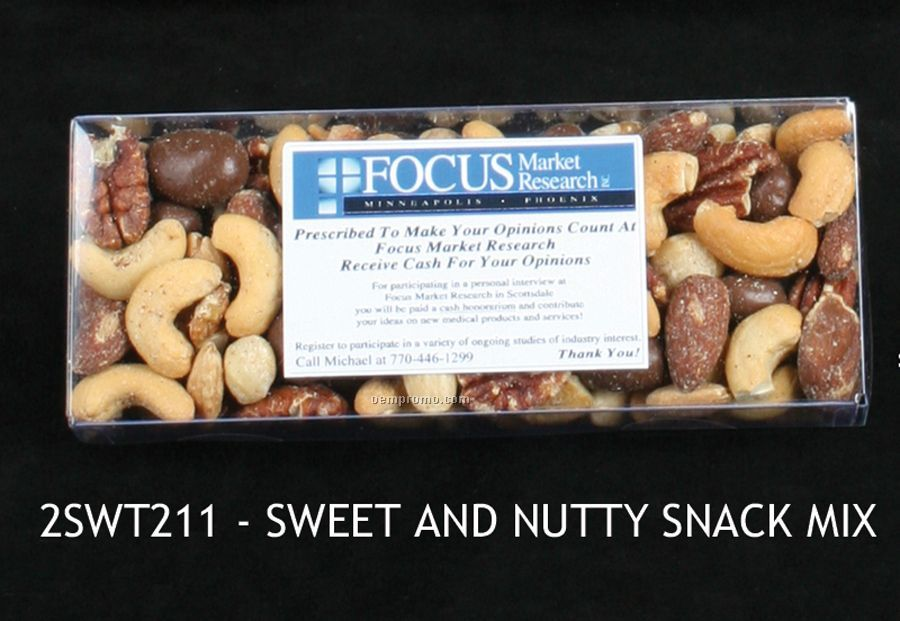Sweet And Nutty Snack Mix