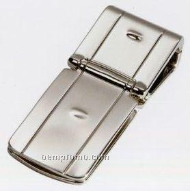 Zurich Silver Money Clamp