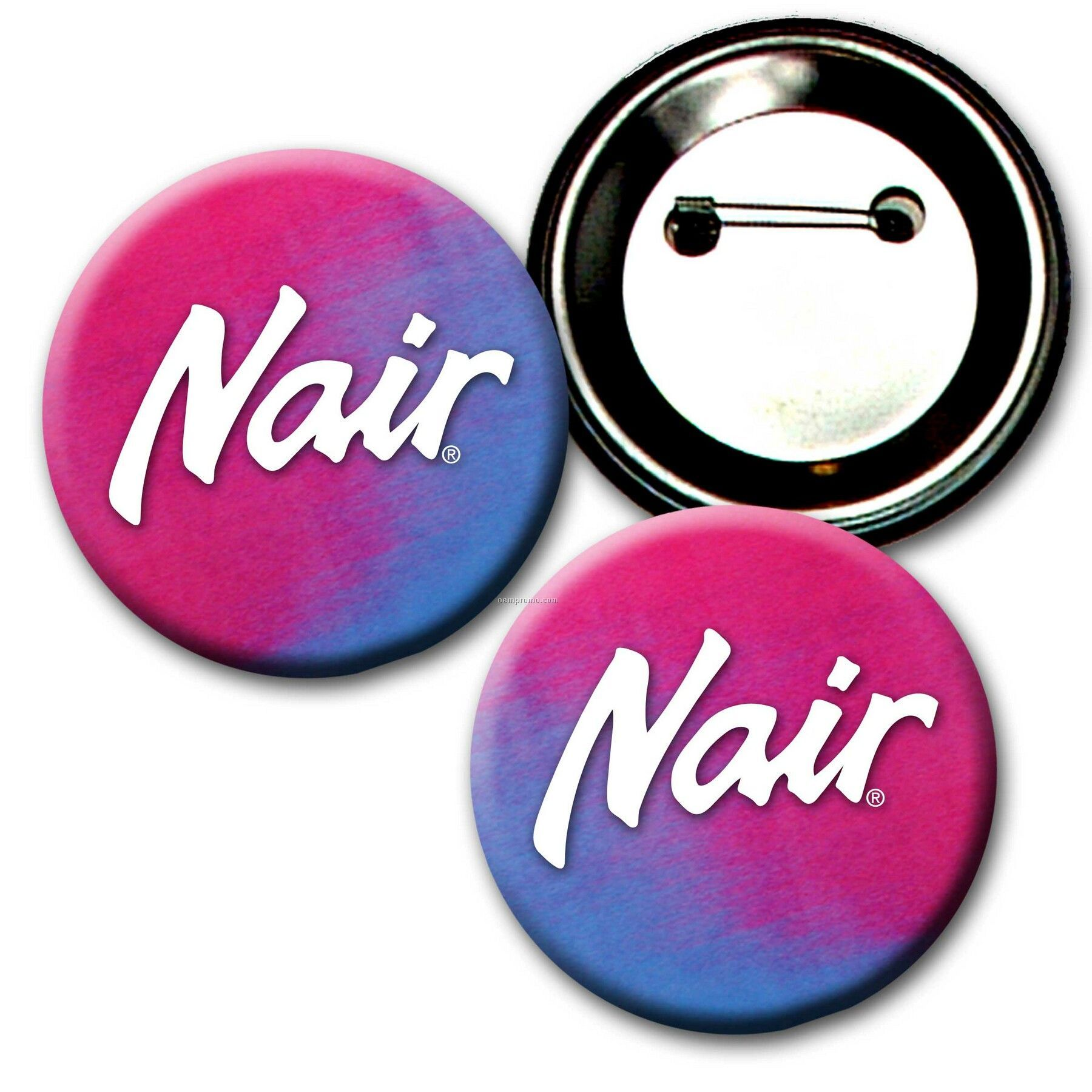 """2"""" Diameter Buttons W/Changing Colors Lenticular Effects (Custom)"""