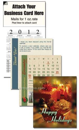 2011 Holiday Gifts Cover 13 Month Realtor Calendar