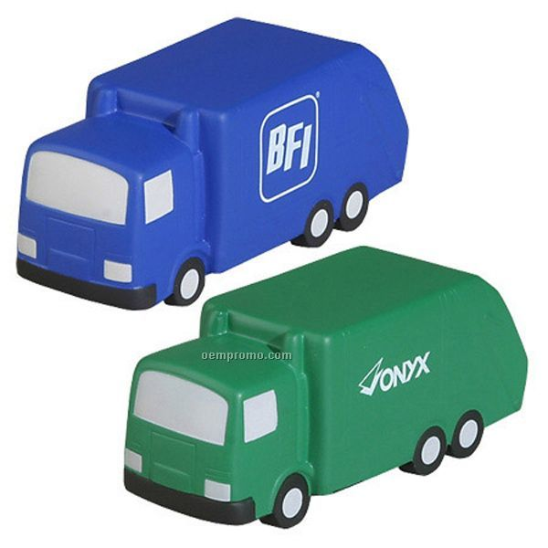 Garbage Truck Squeeze Toy