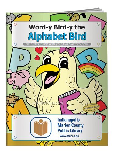 Coloring Book - Word-y Bird-y The Alphabet Bird