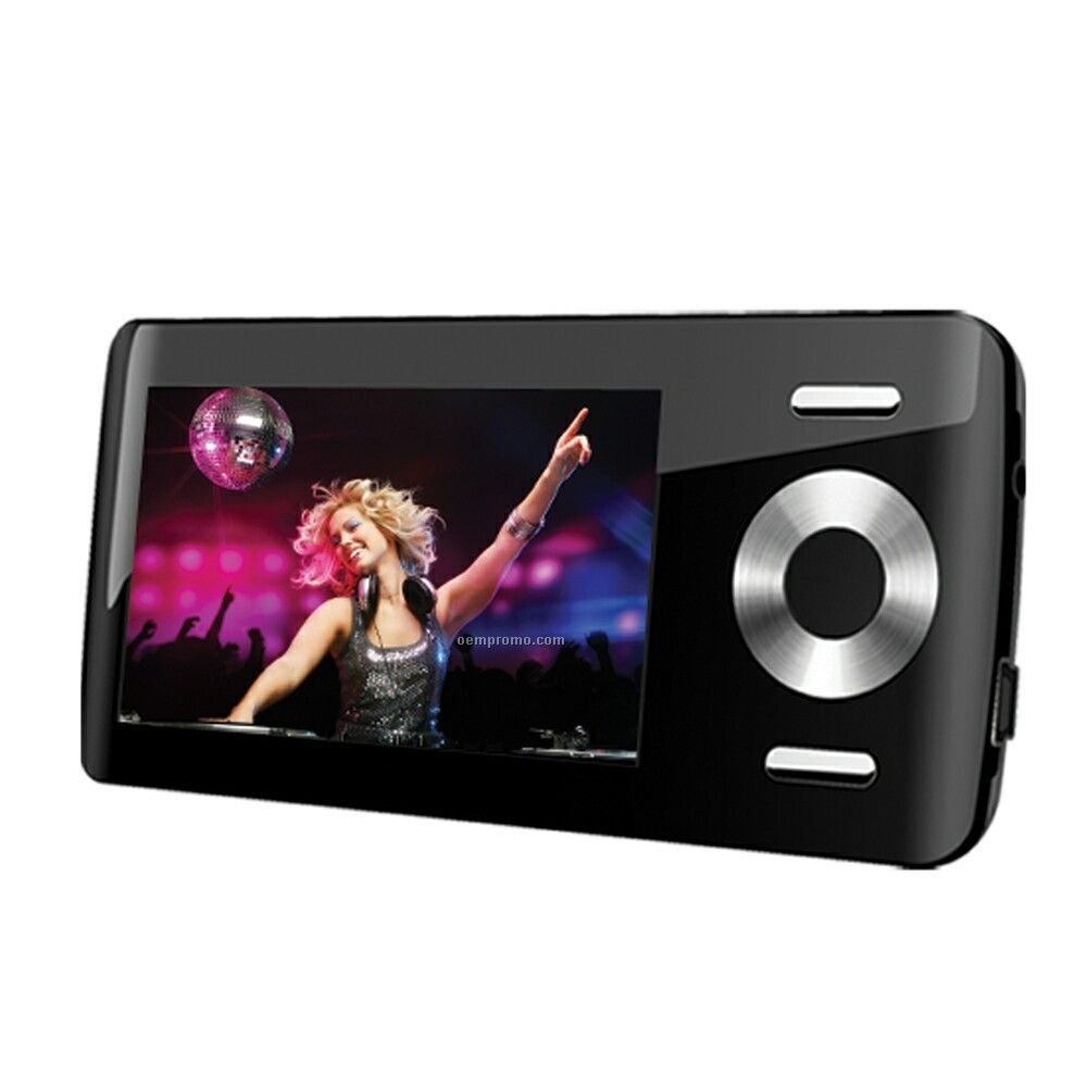 """Mp3 Player With 2"""" Color Lcd, 8 Gb Flash Memory With FM & Touch Pad Control"""