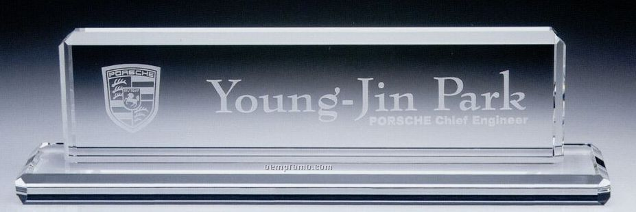 Presidential Name Plate