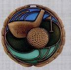 Stock Cem Medal - Golf