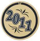 "Mylar - 1"" Year Date ""2011"""