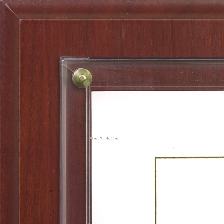 Solid Cherry Slide-in Certificate Plaques