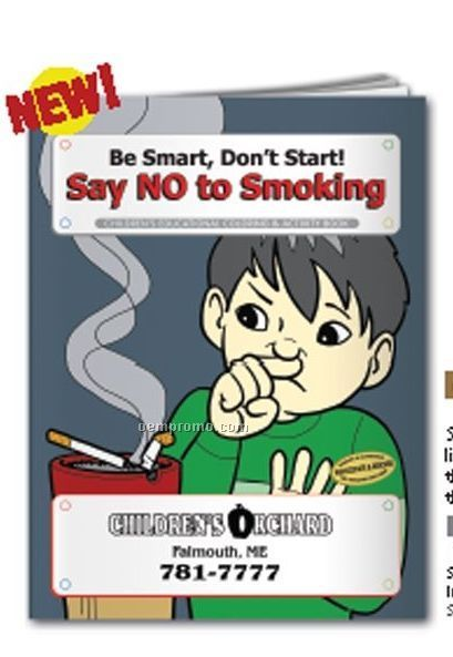 Coloring Book - Say No To Smoking